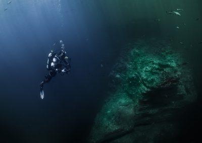 deep diving cursos de buceo en Lanzarote y A Coruña