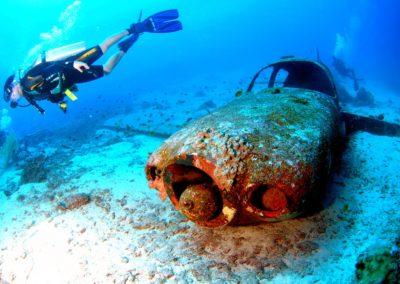 Curso wreck dive Lanzarote
