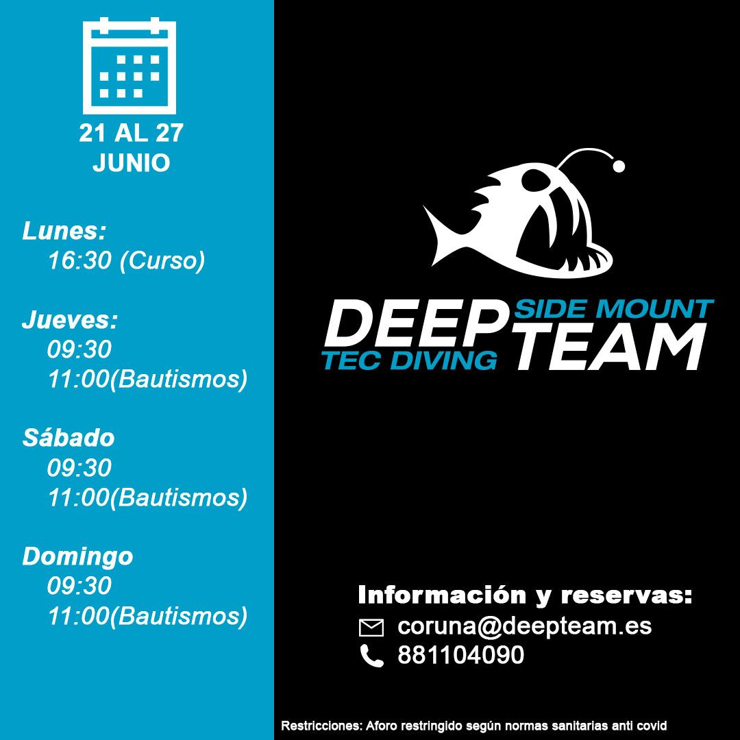 Programacion Deepteam 16 Junio
